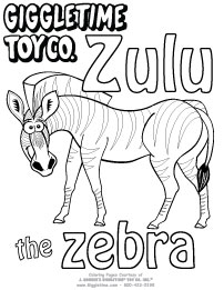 Zulu the Zebra