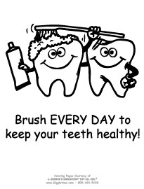 brush everyday for health