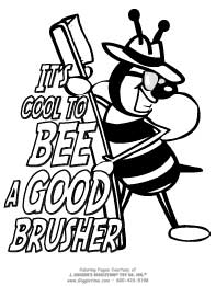Bee a Good Brusher!