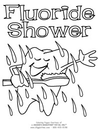 Fluoride Shower