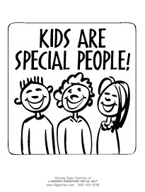 Kids are Special People