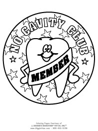 No Cavity Club Member