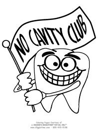 No Cavity Club Banner