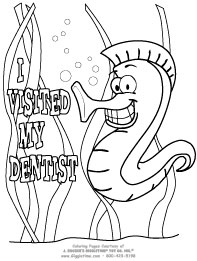 I Visited My Dentist - Seahorse