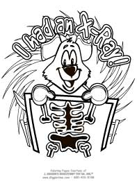 Dental Coloring Pages Teeth Toothbrushes Dental