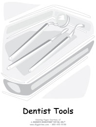 Dentist Tools in Tray