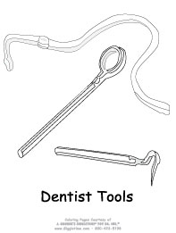 Dentist Tools with hose