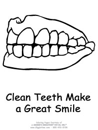 Clean Teeth Make a Great Smile