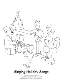Singing Holiday Songs