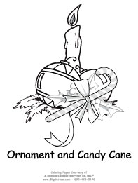 Ornament & Candy Cane