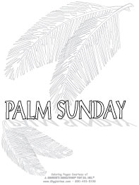 palm sunday cross instructions