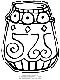 coloring pages kwanzaa - photo#23