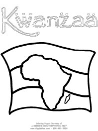 Kwanzaa Coloring Pages: Giggletimetoys.com