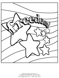 Patriotic Coloring Pages: Giggletimetoys.com