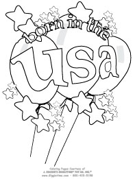 graphic about Patriotic Printable Coloring Pages named Patriotic Coloring Internet pages: