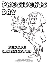 Presidents Day Coloring Pages Giggletimetoyscom