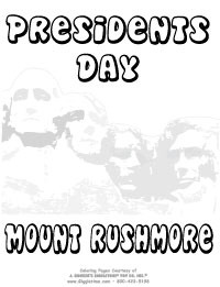 Presidents Day - Mount Rushmore