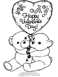 Valentines Day Coloring Pages Giggletimetoyscom