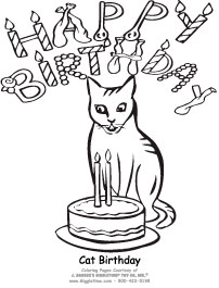 Birthday Coloring Pages Giggletimetoys Com