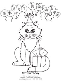 Birthday Cat3