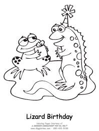 Lizards Birthday