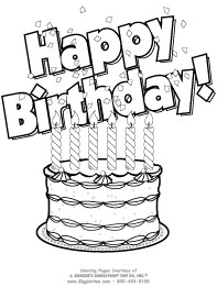 Happy Birthday Aunt Coloring Page Sketch Coloring Page