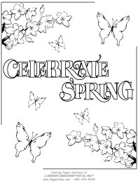 april showers coloring pages Spring Coloring Pages: Giggletimetoys.com april showers coloring pages