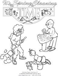 Spring Coloring Pages Giggletimetoys