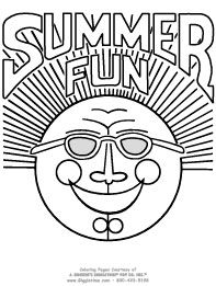 Summer Coloring Pages Giggletimetoys