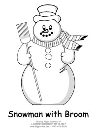 broom tree coloring pages - photo#46