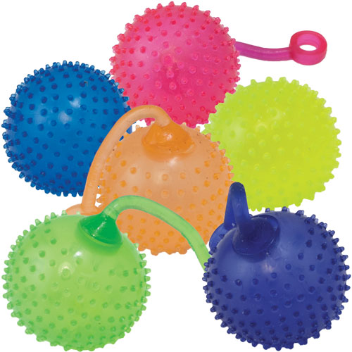 Squishy Ball With Spikes : Superballs & Other Styles Giggletimetoys.com