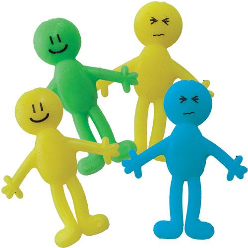 Sticky Amp Stretchy Toys : Stretchy smiley man giggletimetoys