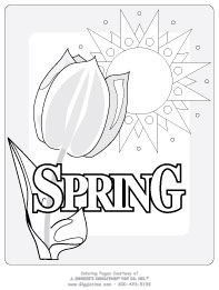 Seasonal Coloring Pages Giggletimetoys Com