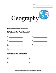 Worksheets Printable Worksheets For 6th Grade 8th grade geography worksheets vintagegrn printable 6th math for grade