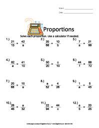 Sixth Grade Worksheets | Giggletimetoys.com